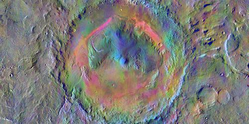 Focus: Winds Can Make a Martian Mountain