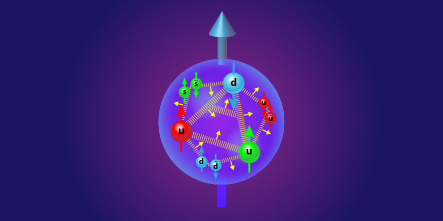 Viewpoint: Spinning Gluons in the Proton