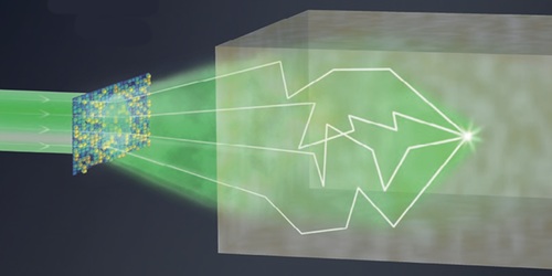Focus: Reversing Light Scattering with a Handful of Photons