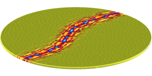 Focus: <i>Image</i>—Sound Waves Guided Along Curvy Path
