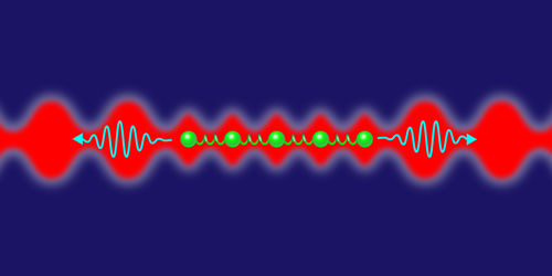Viewpoint: Atoms Oscillate Collectively in Large Optical Lattice