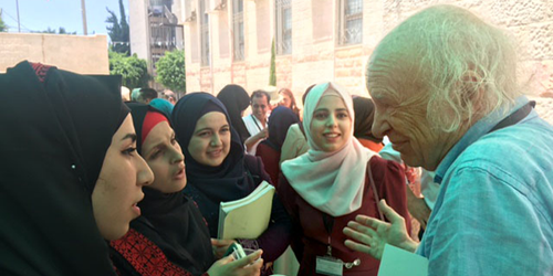 Feature: Meetings: Building Opportunities for Palestinian Science