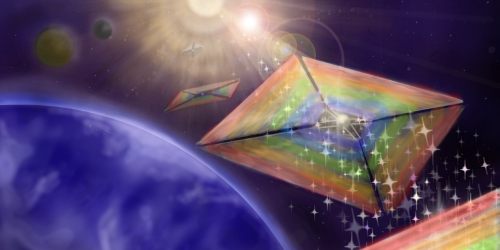 Focus: New Spaceship Sail Self-Centers