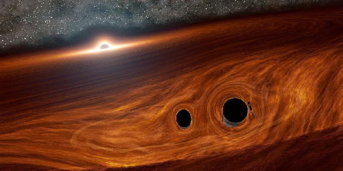 Possible Flare from Black Hole Merger