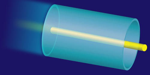 Sculpting a Waveguide with Light