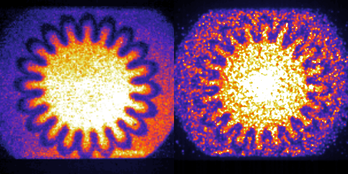 Laser-Driven Implosions Similar at Dissimilar Scales