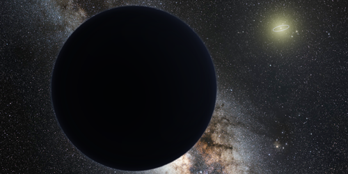 Could Planet Nine Be a Black Hole?