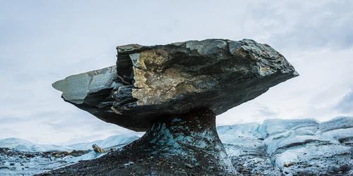 How Glaciers Set a Table