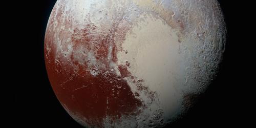 Pluto's Tilt Explains Ice Sheet's History