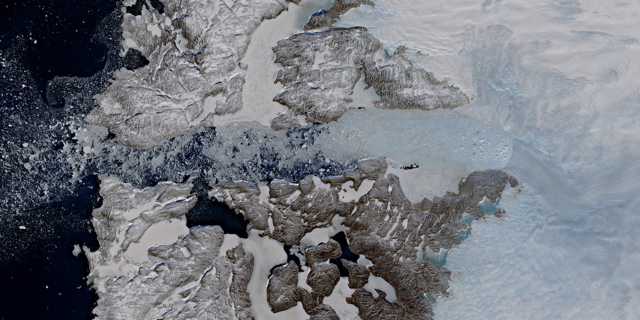 Warning sign for the tipping point of the Greenland Ice Sheet