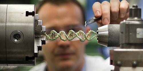 A Gentle Twist on DNA