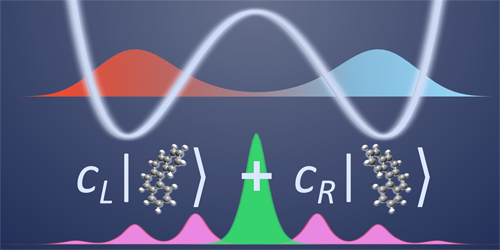 Superpositions of Chiral Molecules