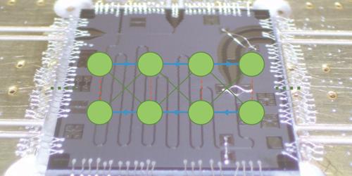 Simulating Quantum Particles on a Lattice