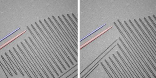 Real-Time Monitoring of Nanoscale Polarization Switching