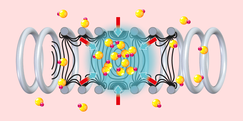 A Laser-Free Method for Cooling Heavy Molecules