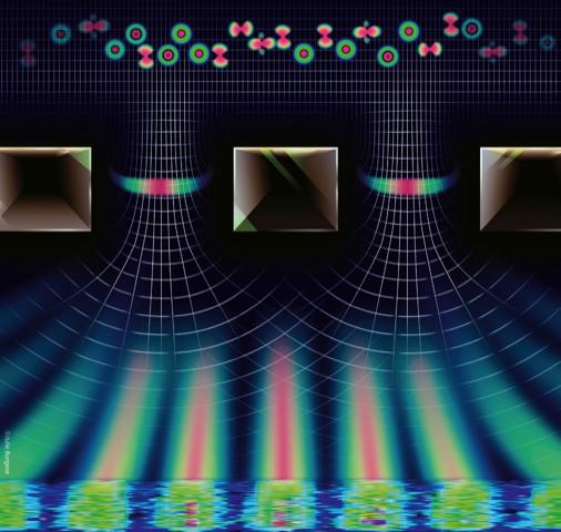 Close Passes Give Atoms Tiny Quantum Kicks