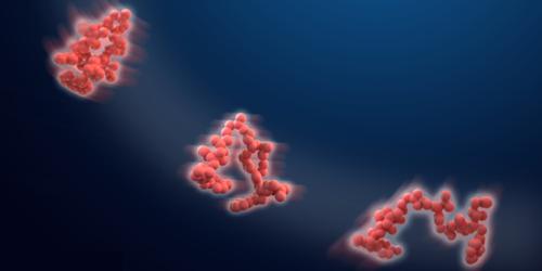 Shape-Shifting Proteins Follow Diffusion Rules
