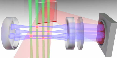 A Computer Memory Based on Cold Atoms and Light