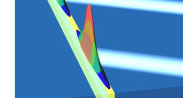 Focus: Light Nearly Stopped in a Waveguide