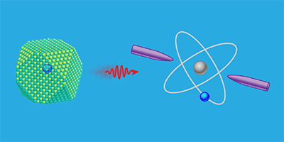 Viewpoint: Single Dot Meets Single Ion