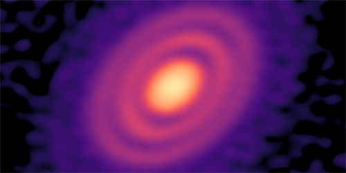 Viewpoint: Searching for Baby Planets in a Star's Dusty Rings