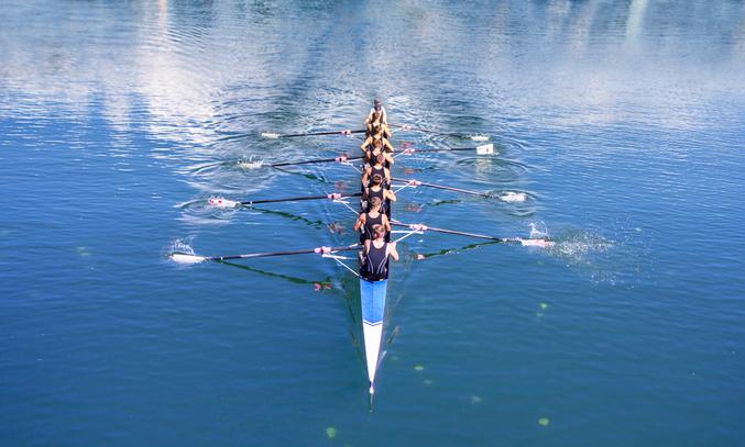 Physics - Shorter Oars Make for Faster Boats