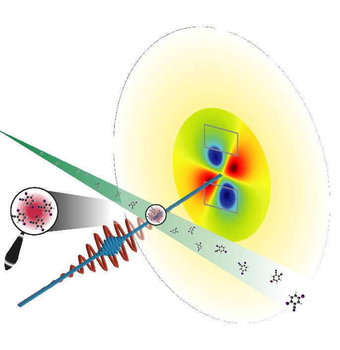 physics focus x rays measure lone molecules
