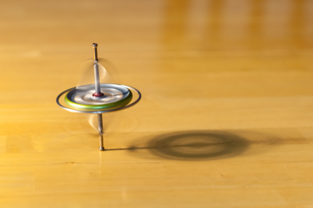 Nuclear Spins Detect Subtle Rotations