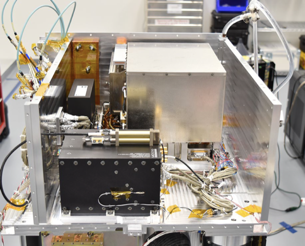 Figure caption  - e99 2 - Ion Clock Makes Maiden Space Voyage